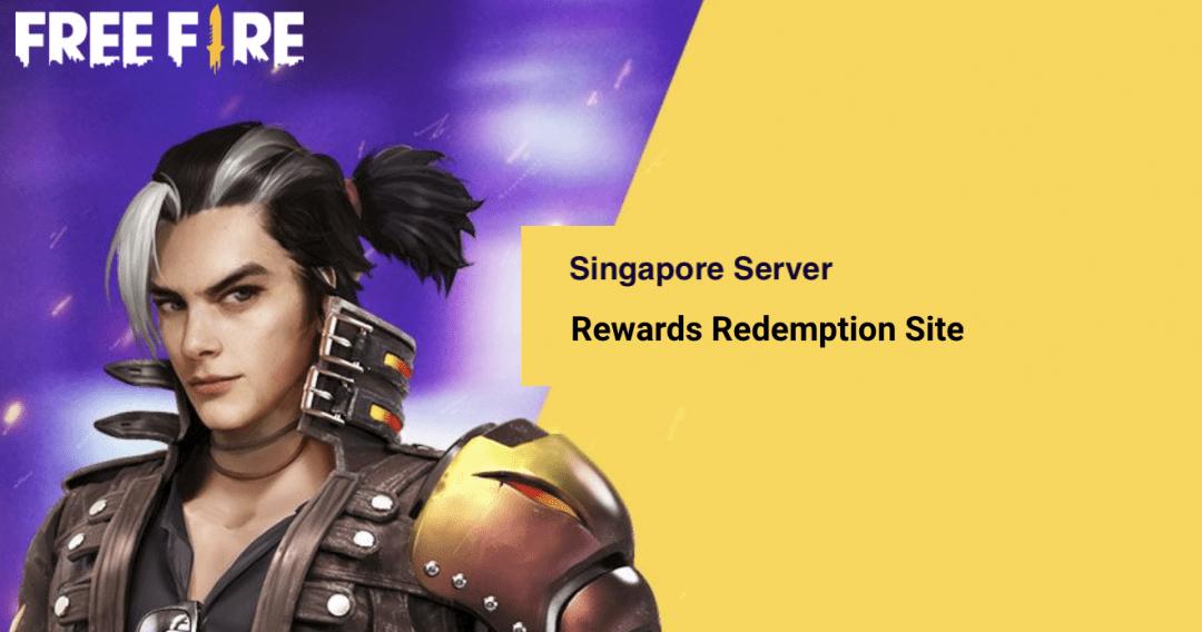 Garena Free Fire Redeem Codes Today Singapore Server 2021
